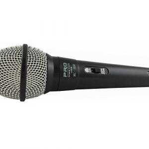 Micrófono Pro-Master negro