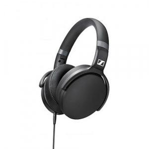 Audífonos Sennheiser over ear negros plegables