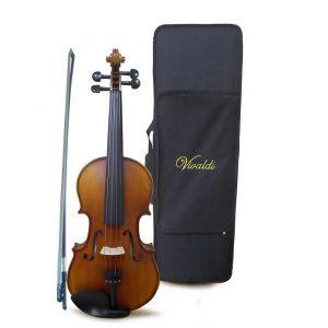 Violin Vivaldi 4/4 con estuche alta gama satinado