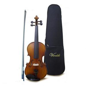 Violín Vivaldi 4/4 con estuche, barnizado