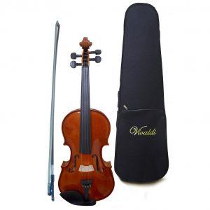 Violín Vivaldi 3/4 con estuche, satinado