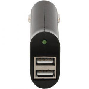Conector Usb doble para carro (vivitar)