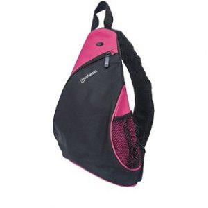 """Mochila para Laptop Manhattan dashpack de 12"""" Color Negro/Rosado"""