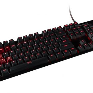 Teclado alámbrico USB gaming  HyperX Alloy FPS mechanical color negro