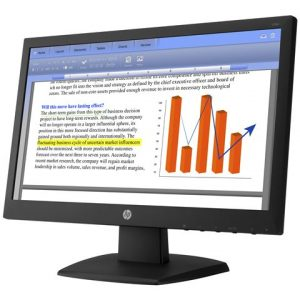 "Monitor led HP V194 18.5"" 1366 x 768"