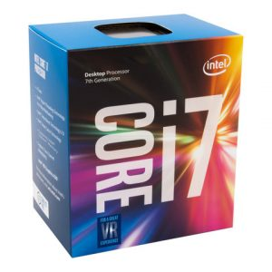 Procesador Intel core i7 7700K 4.2 Ghz 4 núcleos