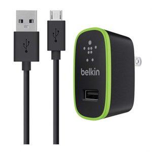 Cargador Belkin micro usb 10V