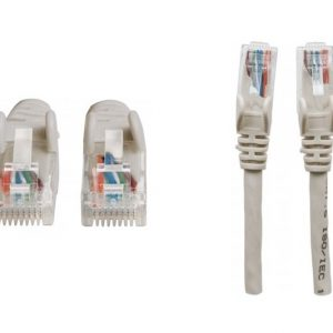 Cable UTP categoria 6  3 pies gris
