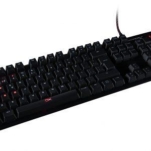 Teclado Mecanico Alambrico HyperX Alloy FPS Gaming alambrico Color Negro
