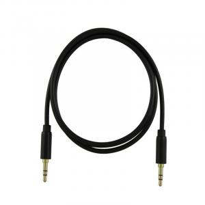 Cable de audio One 3.5mm negro EUC-011Bk