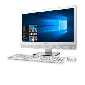 """Computadora Dell Inspiron 3265 amd a6 7310 4gb 1tb 21.5"""" w10 blanco"""