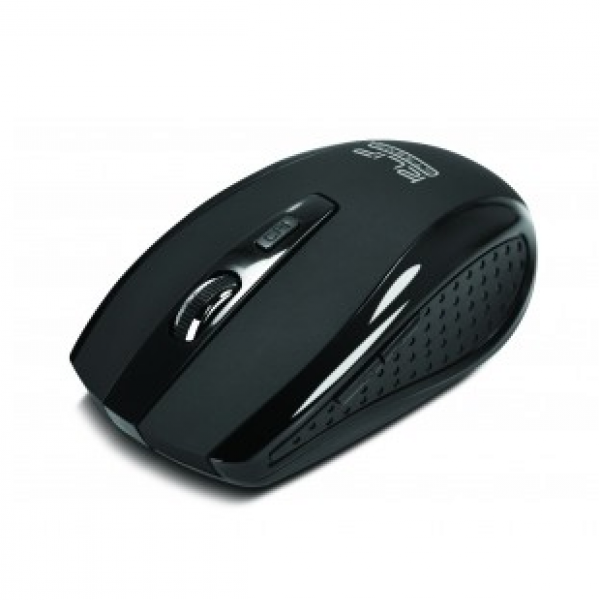 Mouse inalámbrico Klip Xtreme KMW-340BK 1600dpi negro
