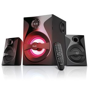 Sistema de parlantes Klip Xtreme KWS-640 inalámbrico negro