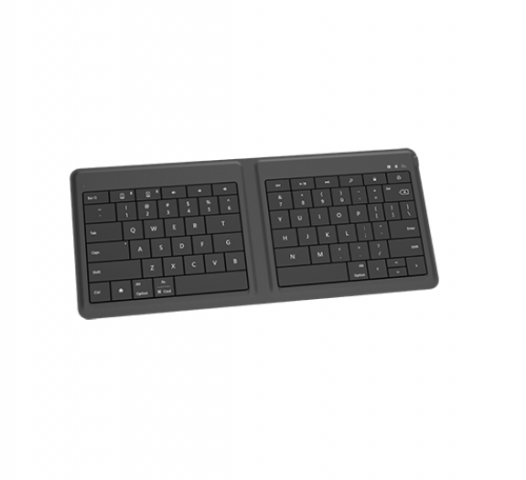 Teclado bluetooth Microsoft plegable en español color negro