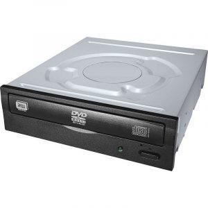 Drive quemador Lite-On de dvd-rw 24x  negro sata