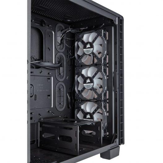 Case Corsair Crystal series 460X RGB ATX