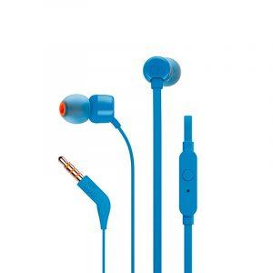 Audífonos JBL In-Ear JBL T110 Color Azul