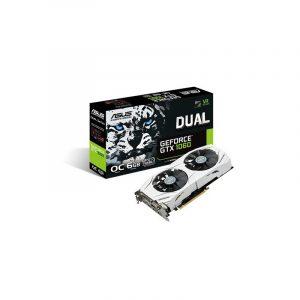 Tarjeta de Video ASUS DUAL-GTX 1060-O6G 6GB GDDR5 SDRAM