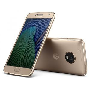 "Celular Motorola G5 plus 5.2"" 12MP 2GB dual sim dorado"