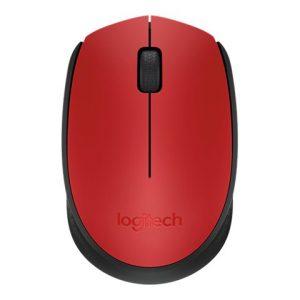 Mouse Inalambrico Logitech M170 Color Rojo