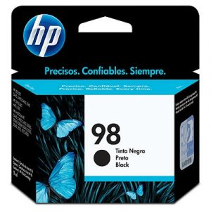 Cartucho HP 98 color negro