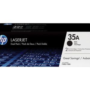 HP 35A - Paquete de 2 - negro