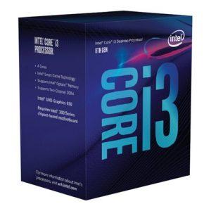 Intel Core i3 8100 - 3.6 GHz - 4 núcleos