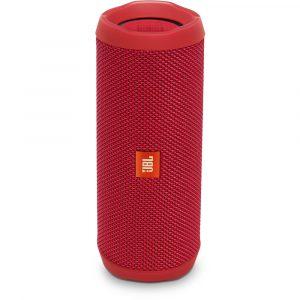 Bocina Bluetooth JBL Flip 4 color rojo