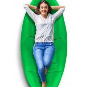 Sillón inflable Xtech zac2go verde