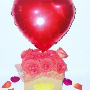 "Arreglo de Globos ""Sweet Roses"""