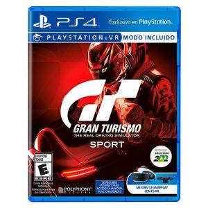 Videojuego Gran Turismo Sport PS4