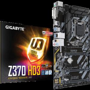 Motherboard Gigabyte Z370 HD3 ATX