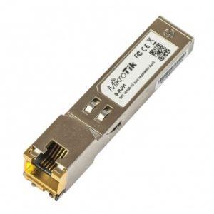 Módulo de transceptor MikroTik S-RJ01 Gigabit Ethernet