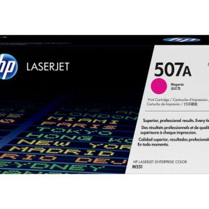 Cartucho de tóner HP 507A Magenta