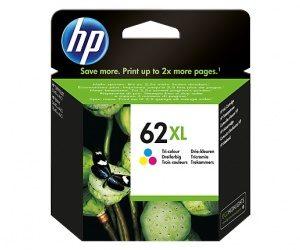 Cartucho HP 62XL Colores - Alto rendimiento
