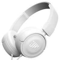 Audifonos JBL T450 3.5mm Color Blanco