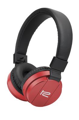 Audifonos Klip Xtreme KHS-620 Bluetooth Color Rojo
