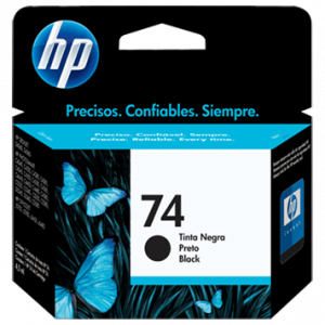 Cartucho HP 74 Negro