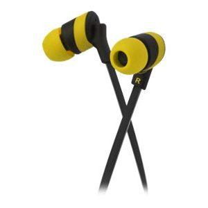 Audifonos Klip Xtreme KolorBudz KHS-625YL 3.5mm Color Amarillo