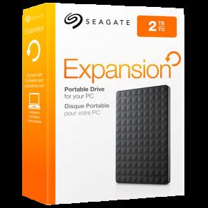 "Disco Duro Externo Seagate Expansion 2TB 2.5"" Color Negro"