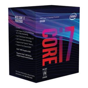 Procesador INTEL CORE i7 8700 8 Generación 3.3GHZ 12MB Cache LGA1151