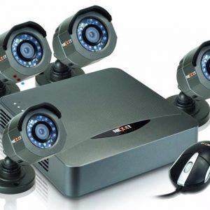 Kit de Camaras Nexxt 4 Camaras 720p + DVR