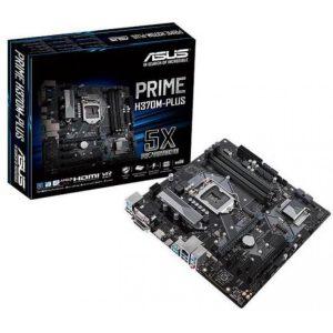 Motherboard ASUS Prime H370M-Plus Octava Generación 1151 LGA