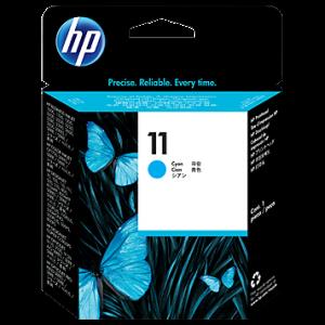 Tinta HP 11 Cián Cabezal de impresión