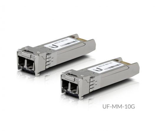 Módulo de transceptor Ubiquiti U Fiber Multi-Mode SFP (mini-GBIC) 10 GigE (Paquete de 2 unidades)