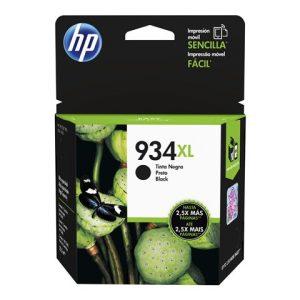 Cartucho HP 934XL negro