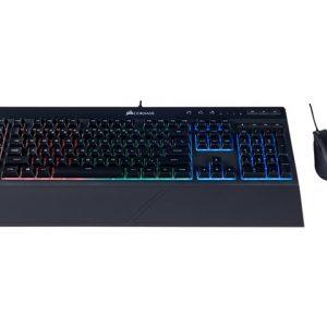 Combo Teclado CORSAIR Gaming K55 + HARPOON RGB  Backlit