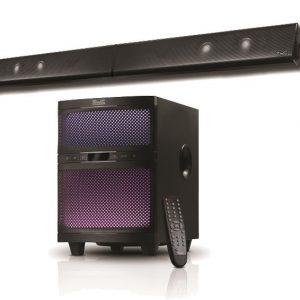 Barra de sonido de 2.1 canales con Bluetooth