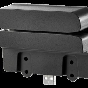 Lector de tarjeta magnética HP Retail Integrated Dual-Head MSR USB 2.0