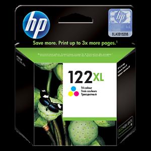 Cartucho HP 122XL Color Alto Rendimiento